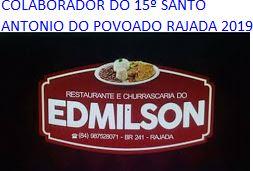 PUBLICIDADE: RESTAURANTE E CHURRASCARIA DO EDIMILSON POVOADO RAJADA C. dos DANTAS