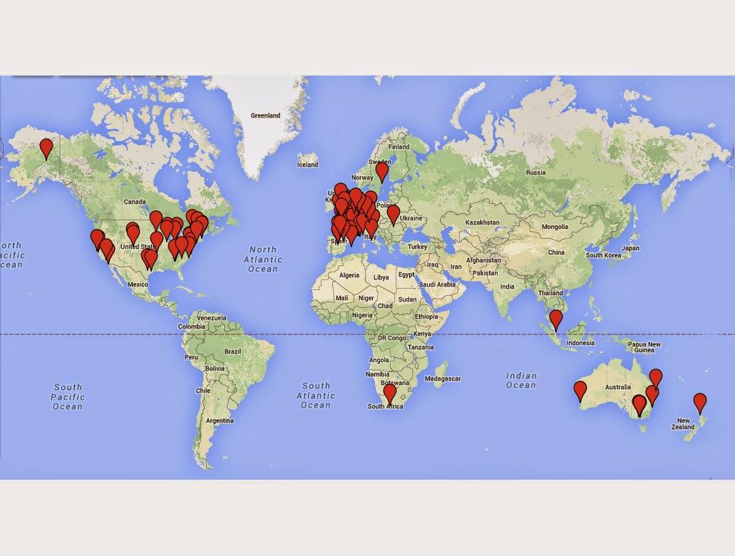 Obimaika around the world