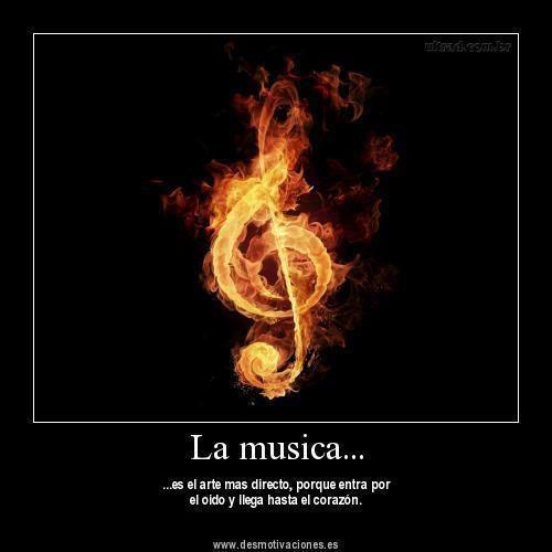 La musica alegra tu vida