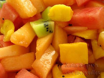 katia au pays des merveilles salade de fruits au th. Black Bedroom Furniture Sets. Home Design Ideas