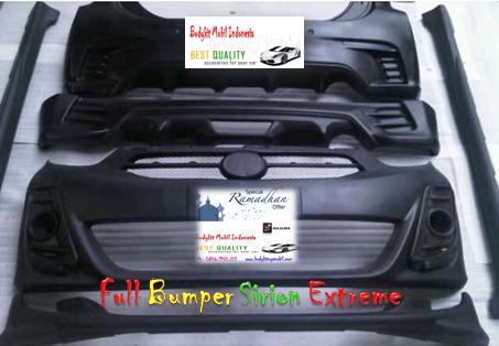 Full Bumper Daihatsu Sirion 11-14 Extreme