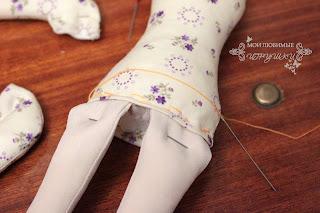 Мои любимые игрушки, мастер-класс, текстильная кукла
