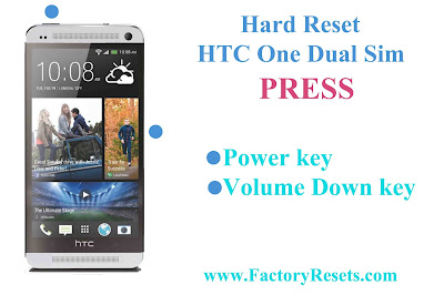 Hard Reset HTC One Dual Sim