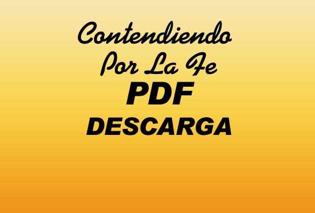 Contendiendo Por La Fe PDF