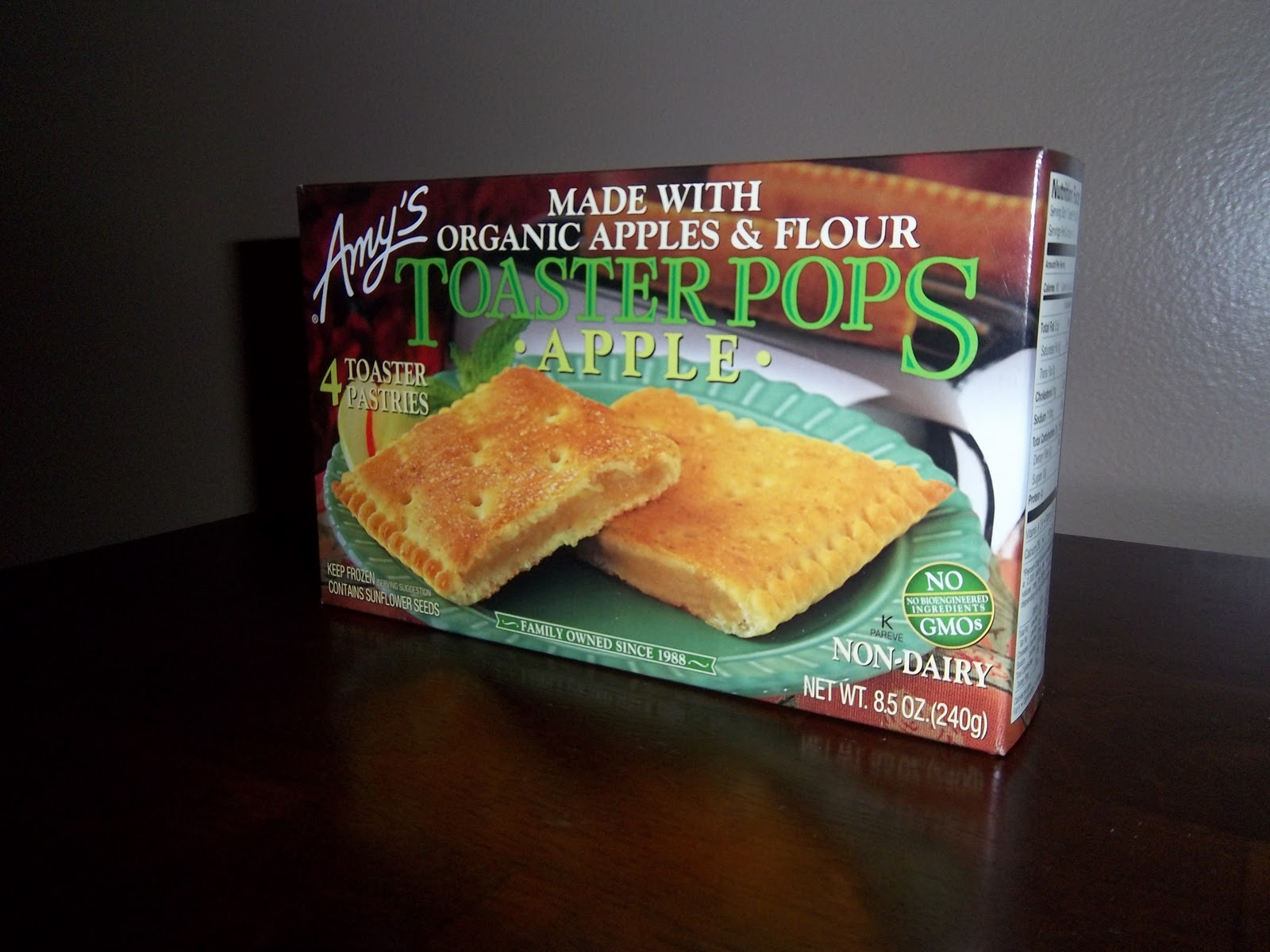 Apple Toaster Pops By Amy's (of Course!)
