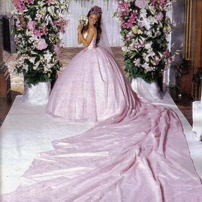 Vestido de novia de Katie Price