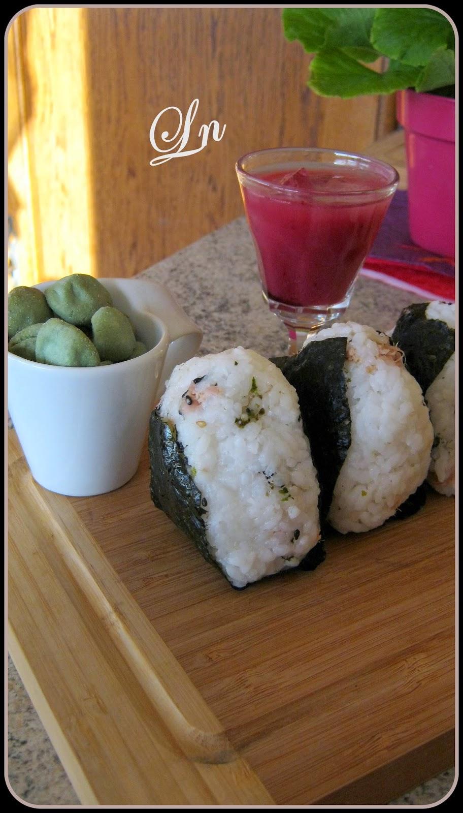 Un ap ro au japon nigorizak sakura et onigiri au thon - Cuisine au pays du soleil ...
