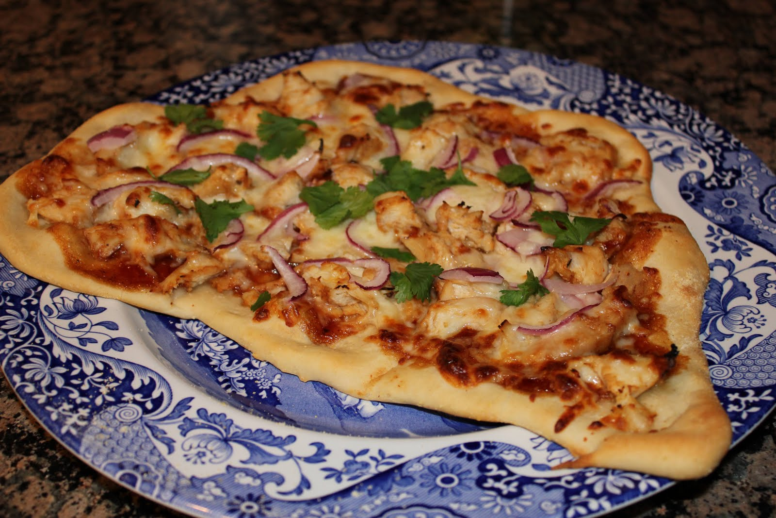 CPK's BBQ Chicken Pizza
