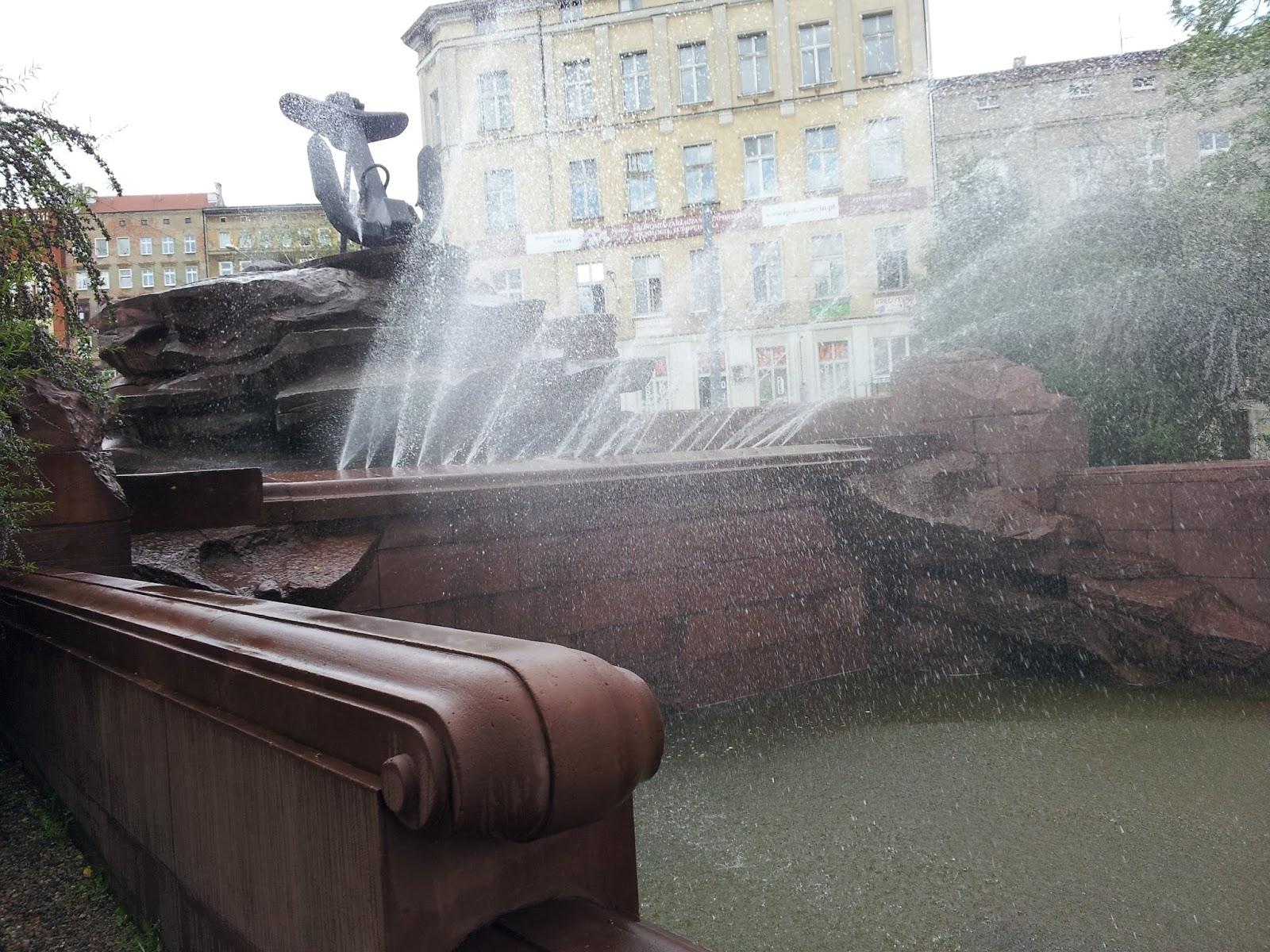 Fontanna w Szczecinie