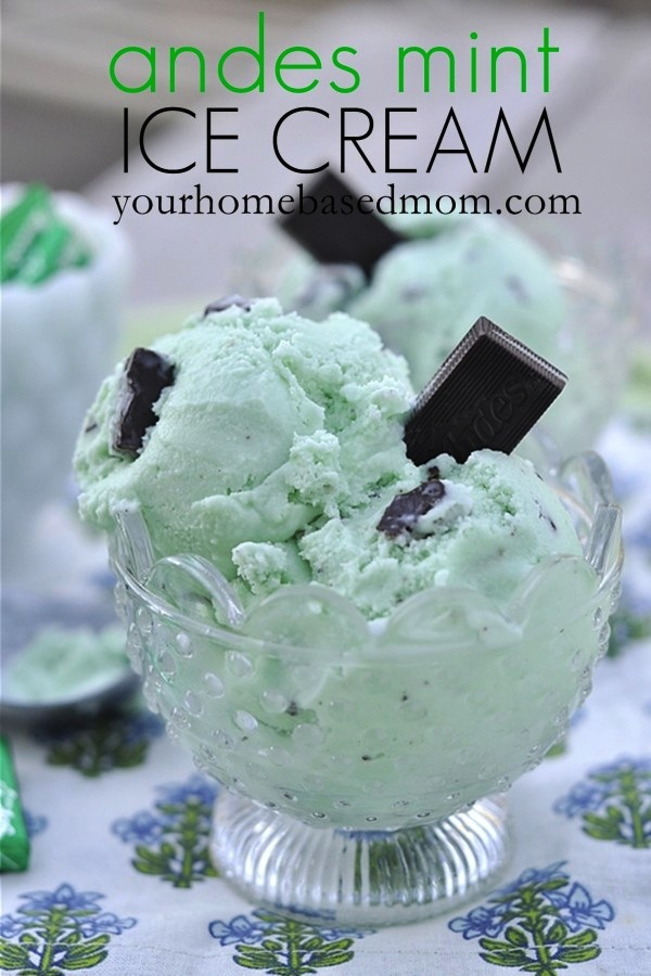 Andes Mint Ice Cream #icecream