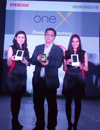 Evercoss Luncurkan One X, Ponsel Android One Pertamanya