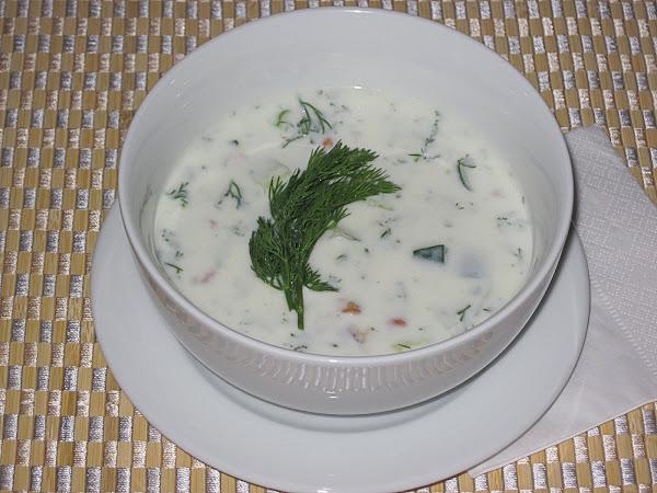 Таратор. Болгарский холодный суп