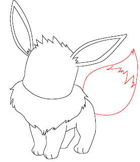 How To Draw Eevee Step 7