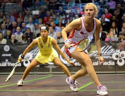 British Open: Nicol David tewas di tangan pemain England, Laura Massaro.