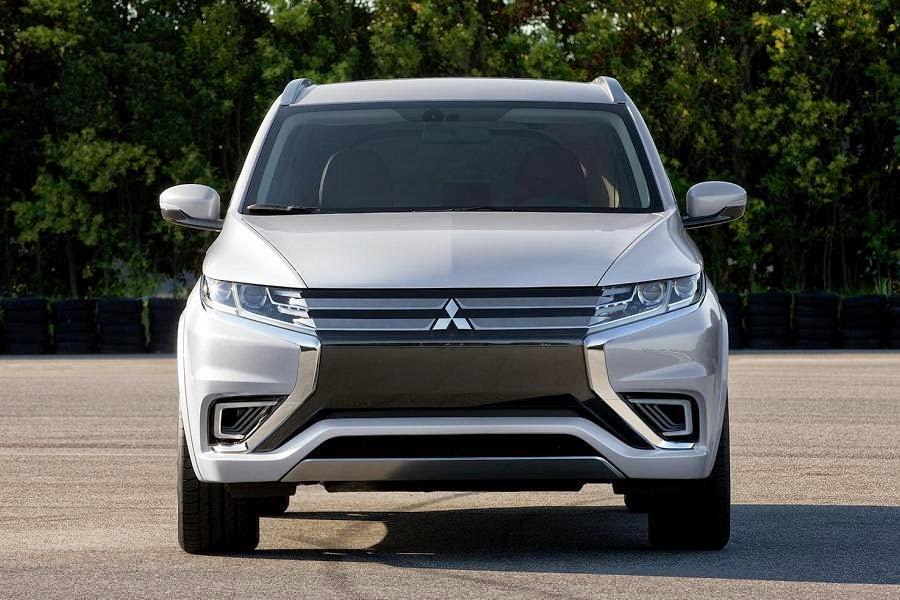 Mitsubishi Outlander PHEV Concept-S (2014) Front