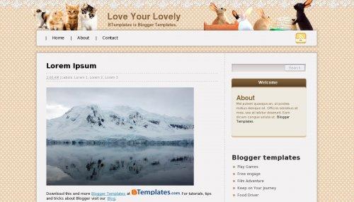 Love Blogger Templates