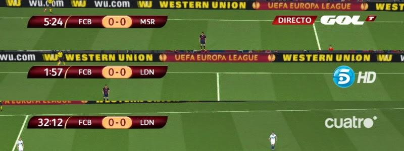 Pes-modif: PES 2014 UEL Scoreboard + TV Logo By Txak