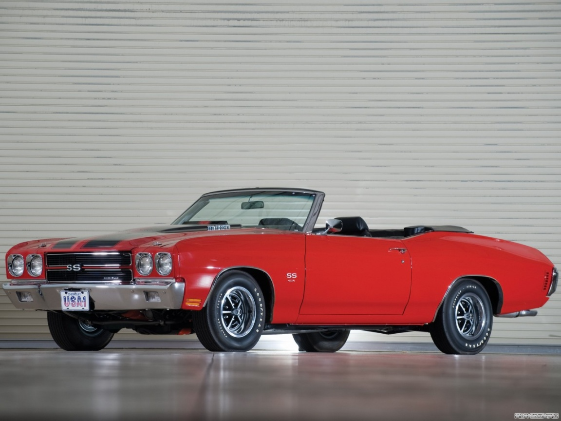 Chevy Chevelle Ss Convertible Door Muscle Cars Auto Car