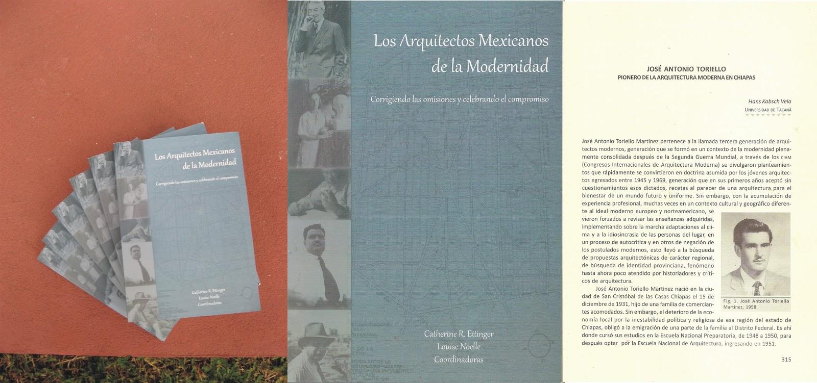 Los arquitectos mexicanos de la modernidad corrigiendo for Arquitectos mexicanos