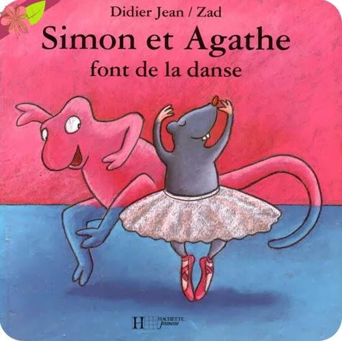 """""""Simon et Agathe font de la danse"""" et """"Simon et Agathe se déguisent"""" de Didier Jean et Zad"""
