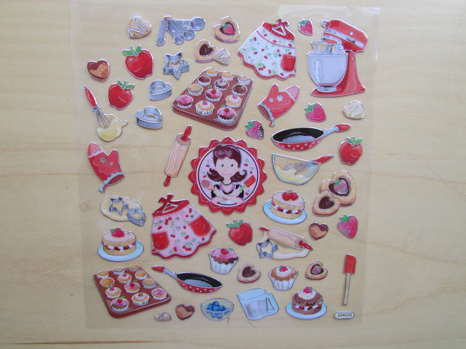 Cute baking stickers | Akinokiki
