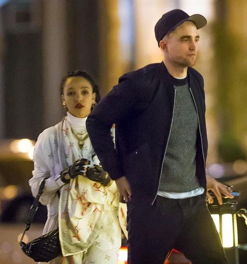 Robert Pattinson and FKA Twigs on Turtel Tour