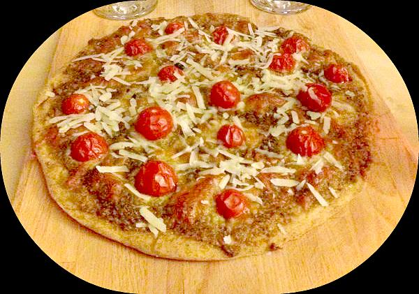 pizza pesto nasıl yapılır