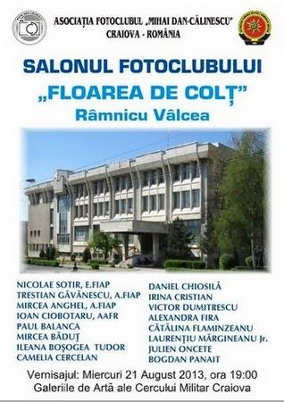 """Salonul fotoclubului """"Floarea de Colţ"""" la Craiova"""