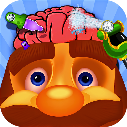 king brain doctor - free kids game