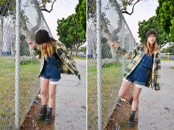 overall, fashion, urban lumberjack