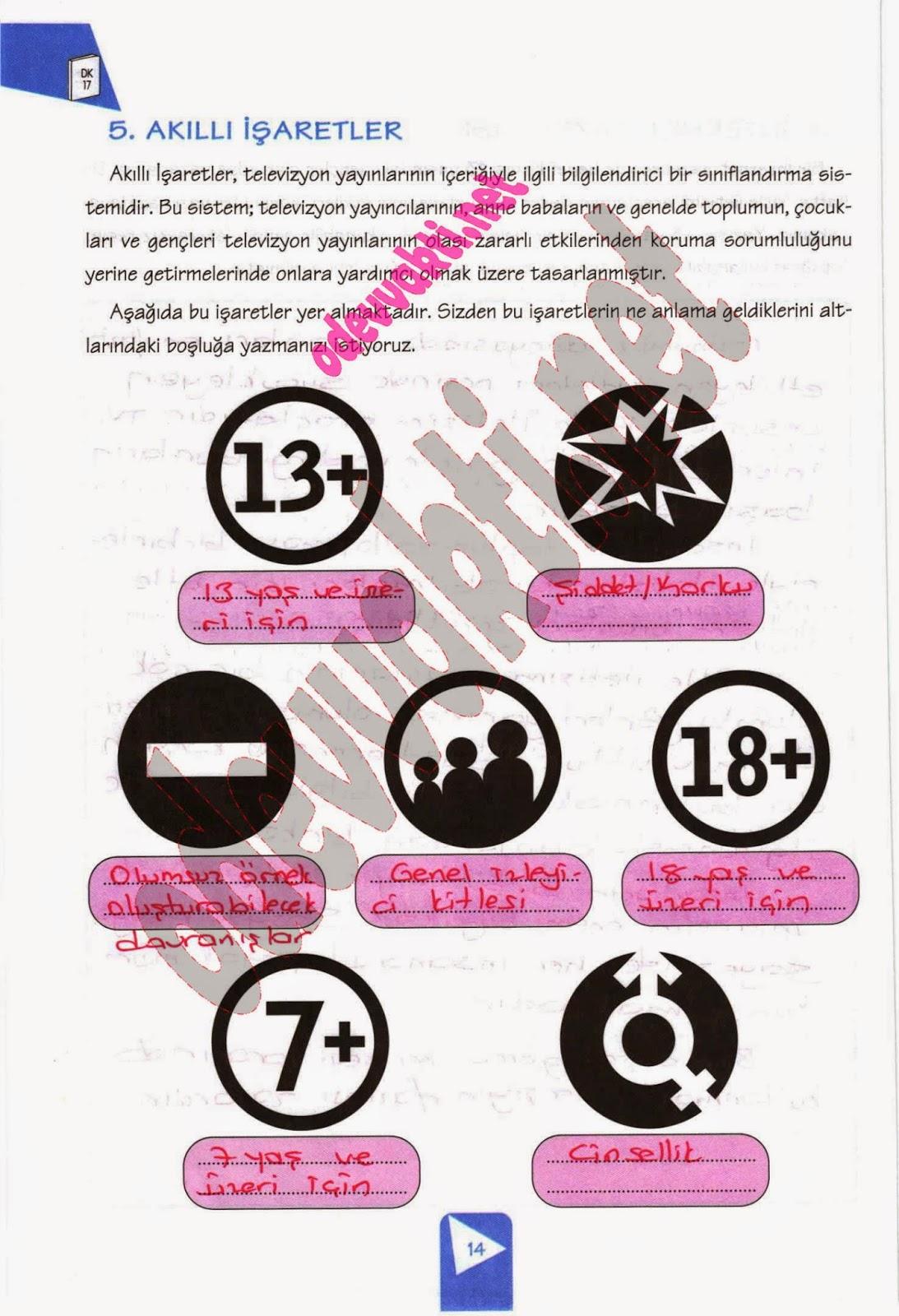 Evren Yayınları 7 Sınıf Sosyal Bilgiler çalışma Kitabı Cevapları