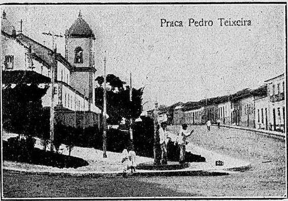 PRAÇA PEDRO TEIXEIRA EM BARBACENA
