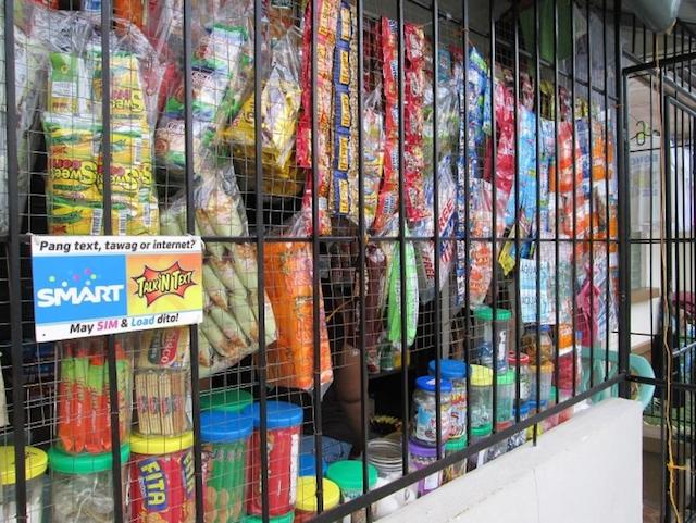 Sari sari clothing store in the philippines