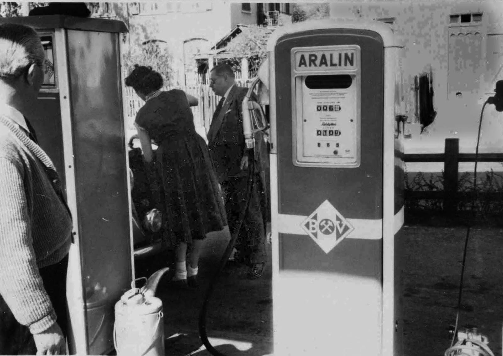 gv lichtenstein 1955 die letzte tankstelle vor dem albaufstieg. Black Bedroom Furniture Sets. Home Design Ideas