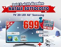 Sottocosto Trony Natale - TV LED 3D Samsung UE46E6E6100