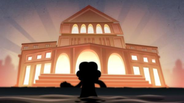 Google Doodles Beethoven's 245 Year Sampai di Depan Gedung