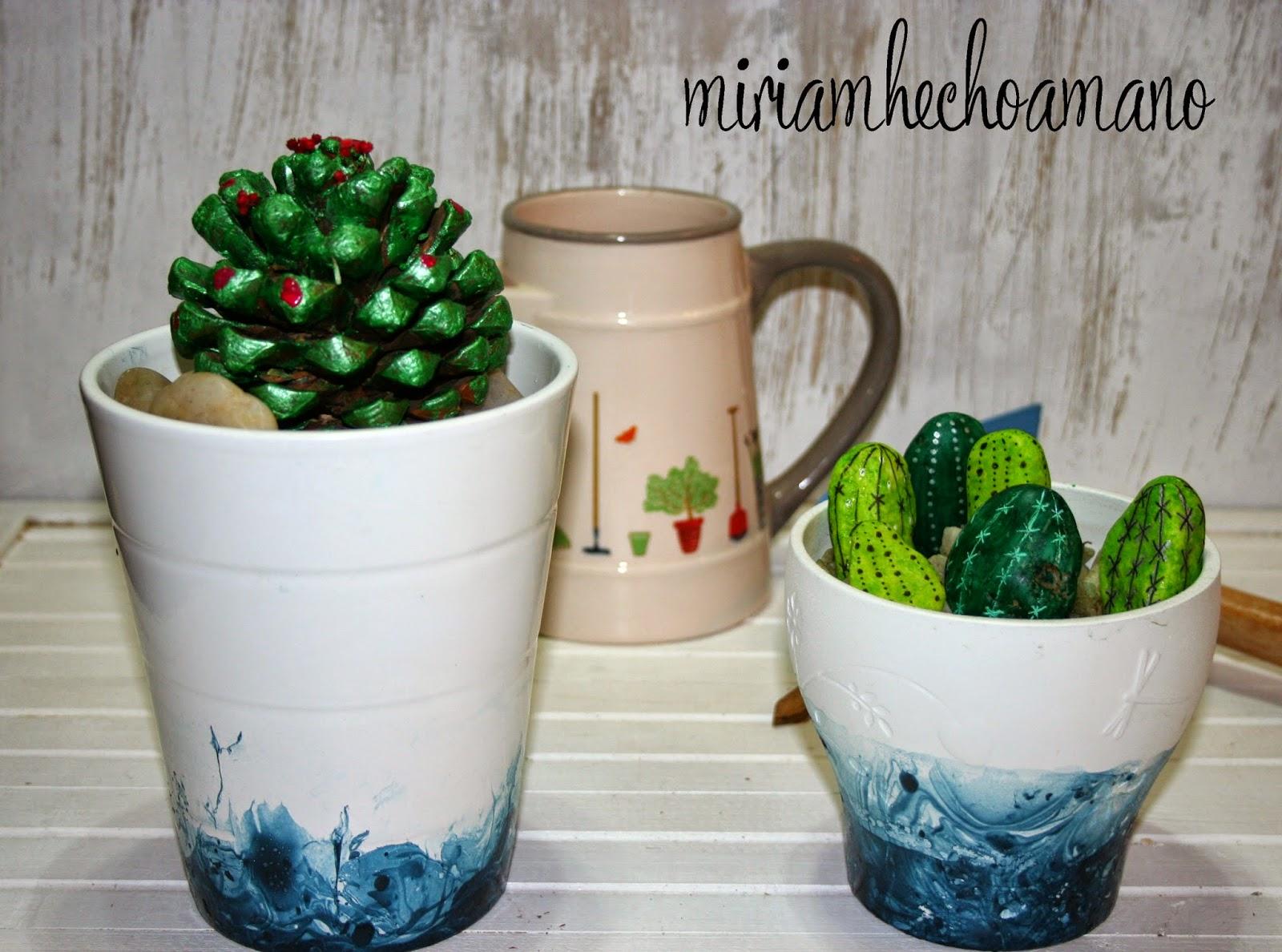 diy maceta cactus