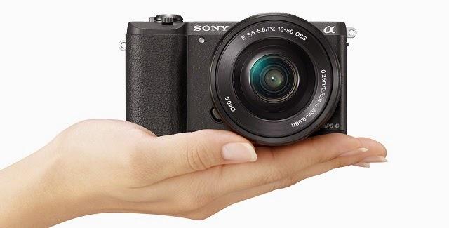 Fotografia della Sony A5100