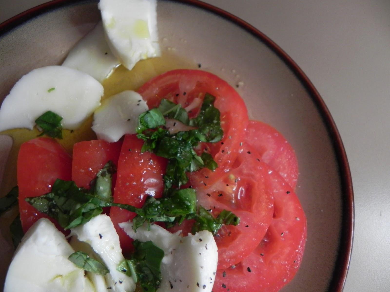 Axiom At Home: Quick Caprese Salad