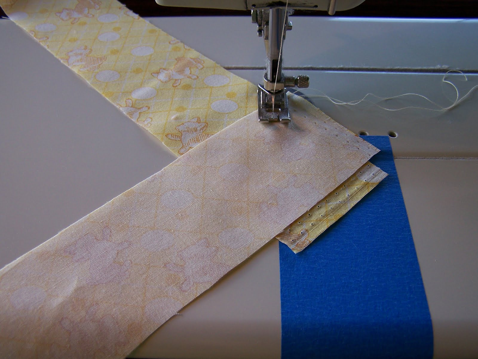 how to put a quilt together without binding