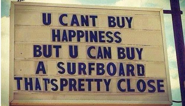 hapiness surfing