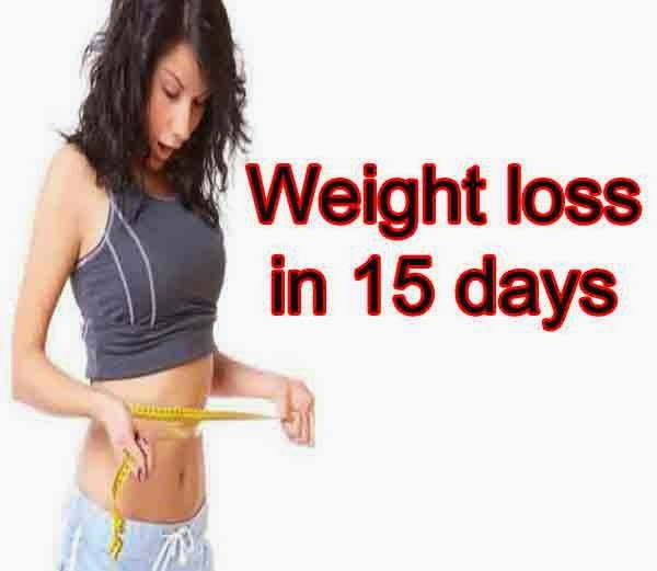 weight loss quickly