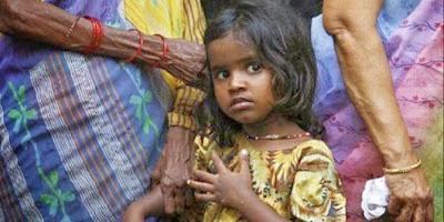 Tumbal bocah India agar panen melimpah