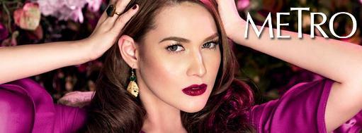 Bea Alonzo on Metro Mag Beauty Issue