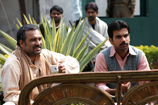 Pankaj Tripathi as Sultan Qureshi, Raj Kumar Yadav as Shamshad Alam, Gangs of Wasseypur ii, directed by anurag kashyap