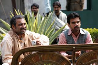 Pankaj Tripathi as Sultan Qureshi, Raj Kumar Yadav as Shamshad Alam, Gangs of Wasseypur ii, directed by anurag kashyap