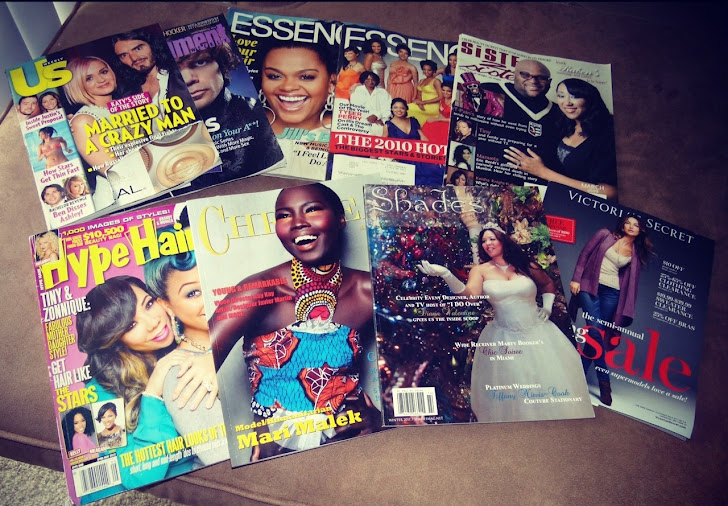 Just a few of my Fav Magazines
