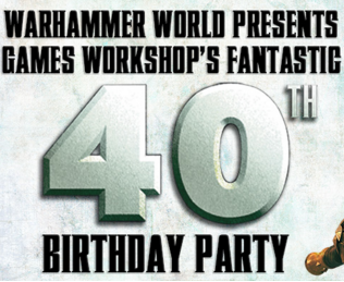 Fiesta 40º aniversario Games Workshop