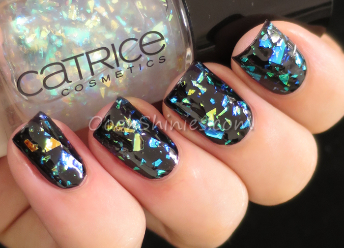 Essence Black Is back with Catrice Glitterazzi