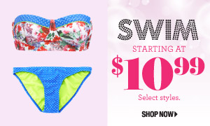 1cd0f557cb Your Fashion Resource   Charlotte Russe  Swim starting at  10.99